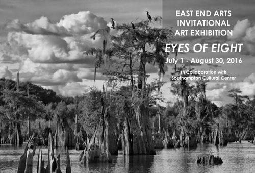 East End Arts Invitational Art Exhibition EYES OF EIGHT (posted June 29, 2016)
