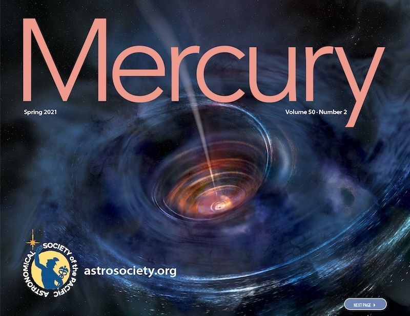 The Spring 2021 issue of Mercury is LIVE