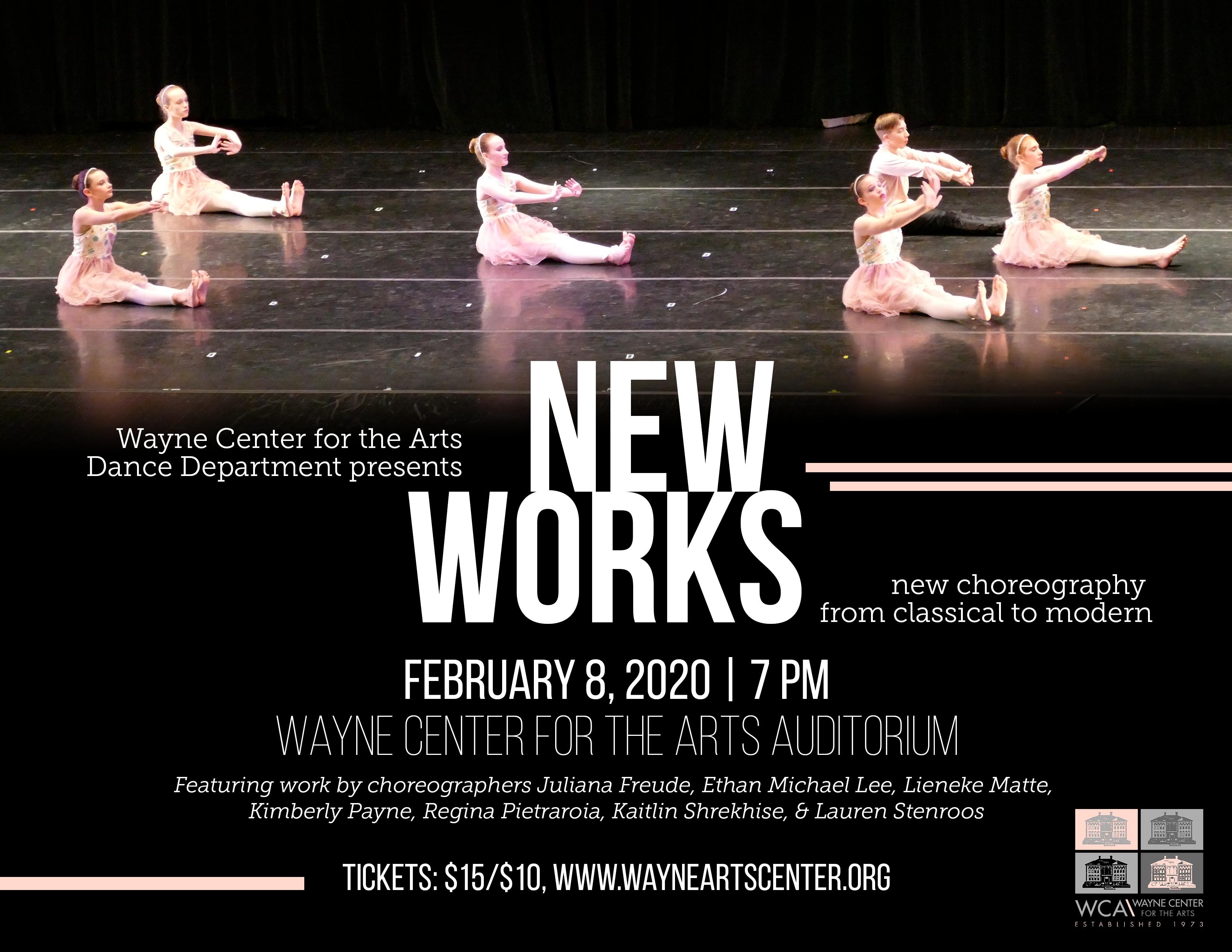 WCA Dance Department presents: New Works