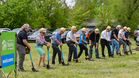 Habitat for Humanity Holds Groundbreaking