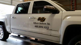 Vehicle Vinyl Lettering and Partial Wraps Gilbert Chandler Tempe