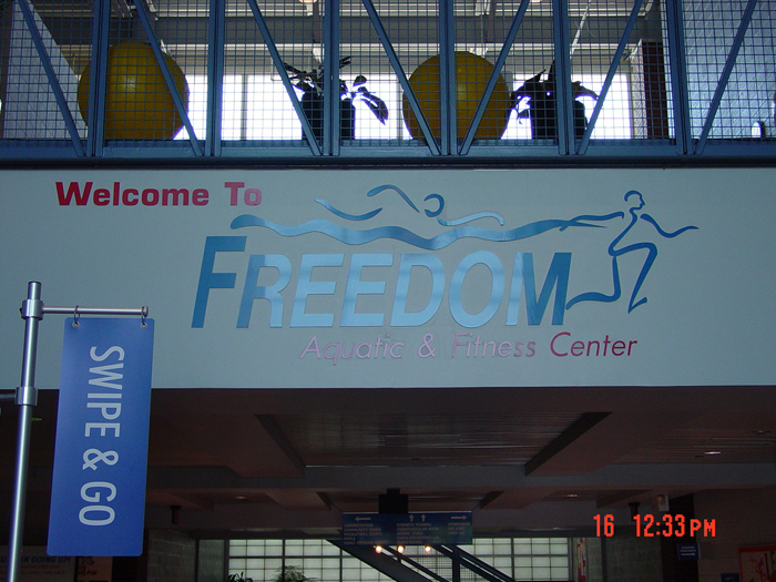 Freedom Storefront Sign