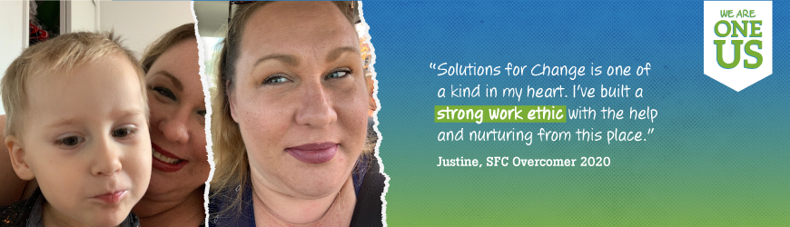 How Justine Landed a Dream Job through Solutions for Change
