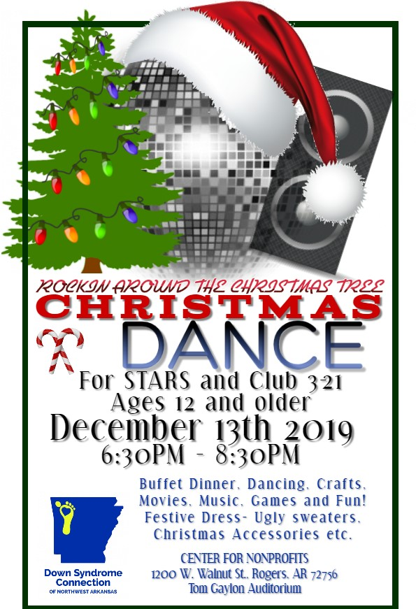 STARS and Club 3-21 Rockin Around the Christmas Tree Christmas Dance