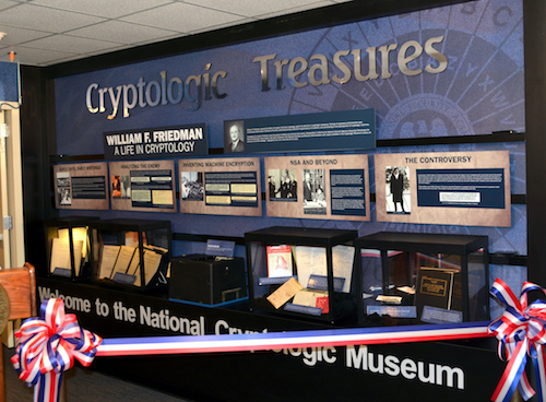 National Cryptologic Museum Exhibit - William F. Friedman: A Life in Cryptology
