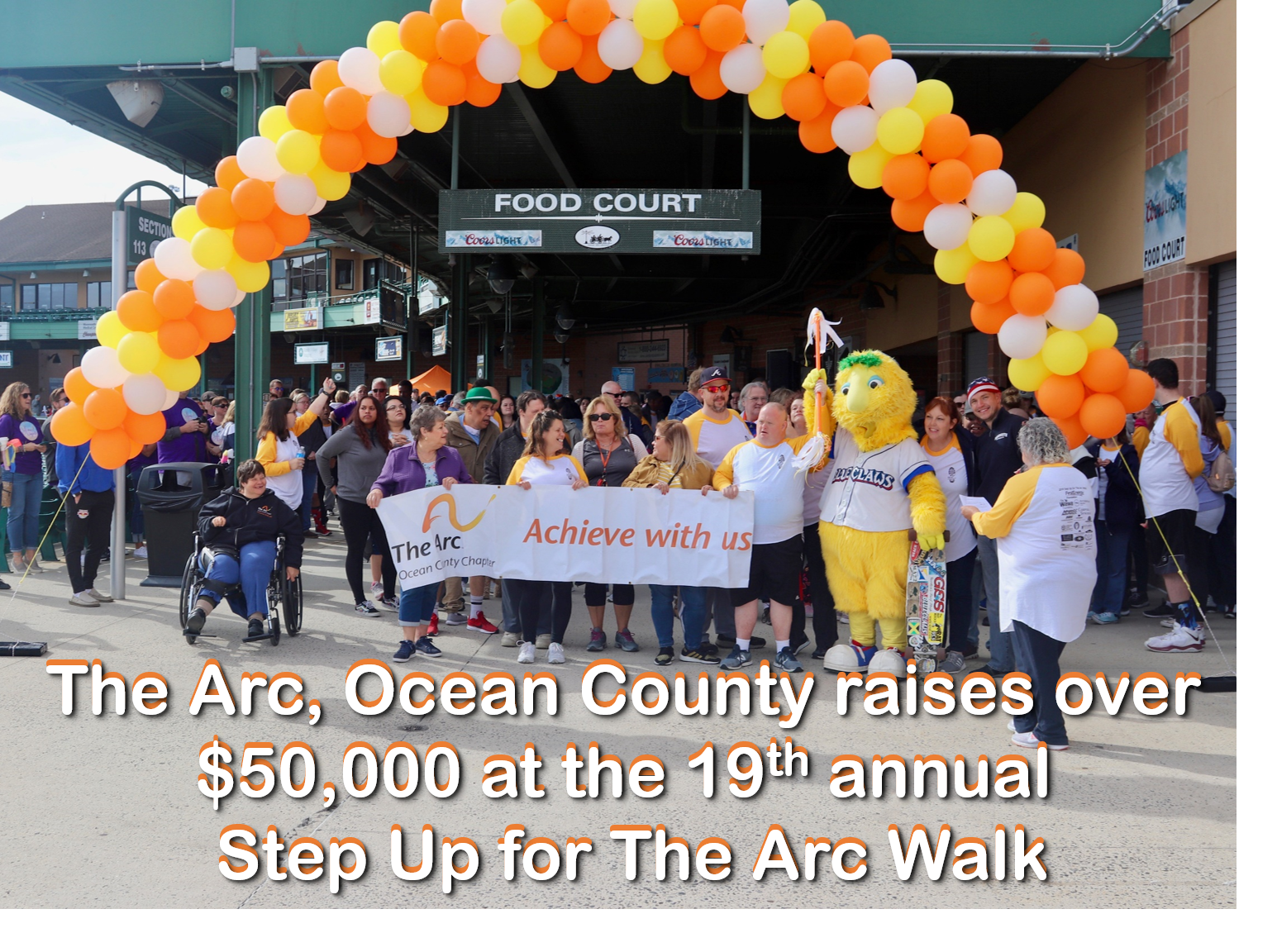 2019 Step Up for The Arc Walk Raises over $50,000