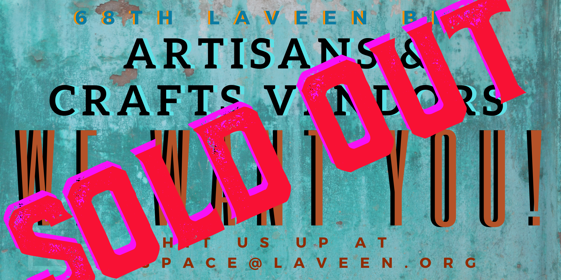 Our Vendor Booths Are SOLD OUT