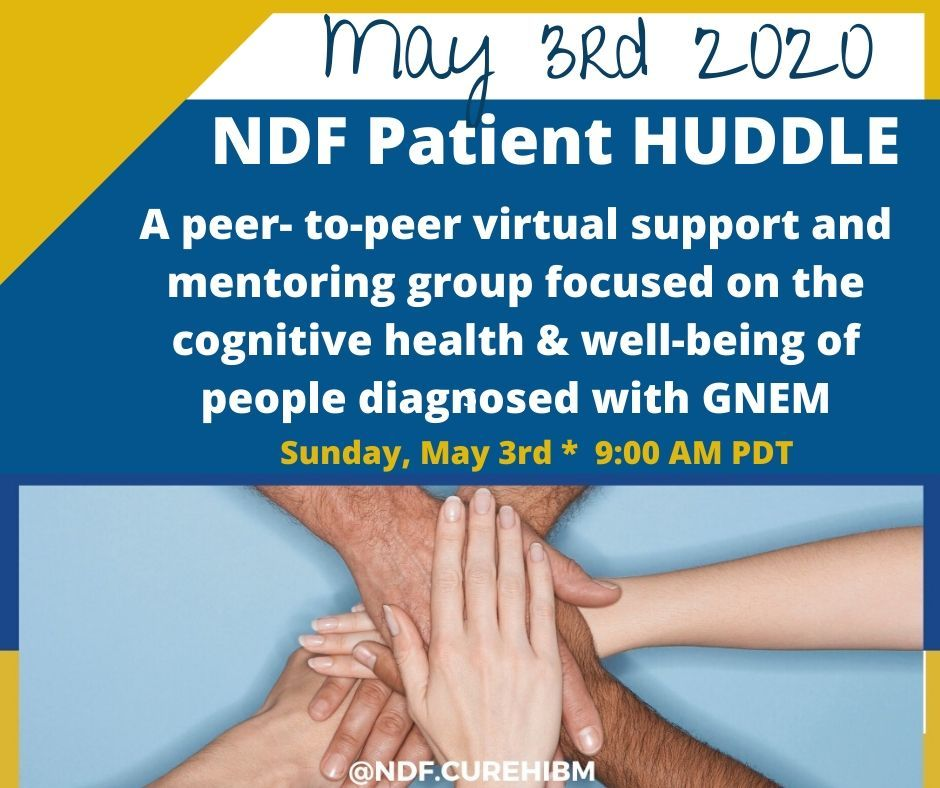 May Patient Huddle