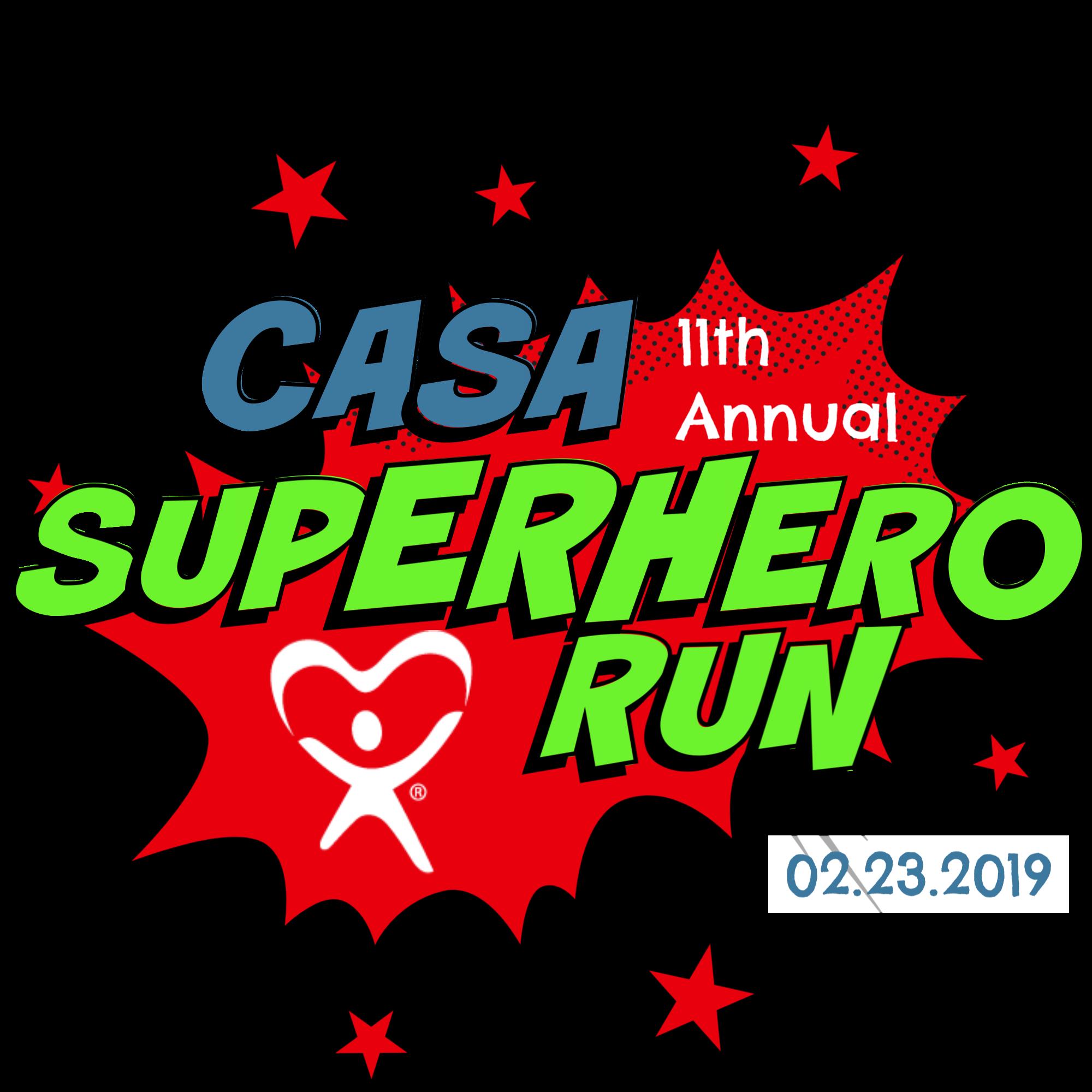 Be a SUPERHERO for CASA foster kids!