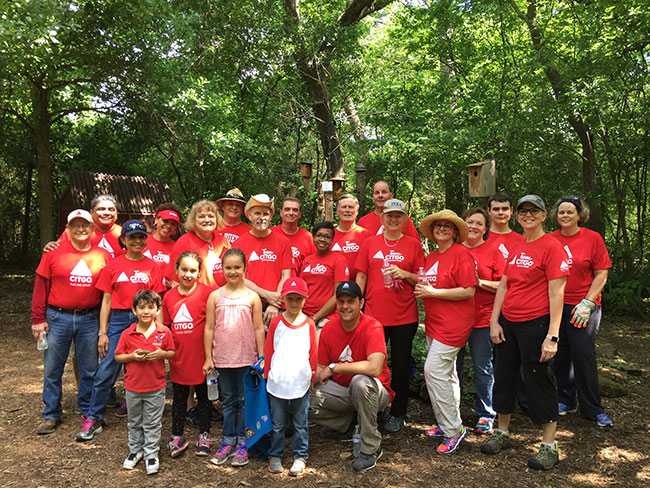 Citgo Earth Day Volunteers