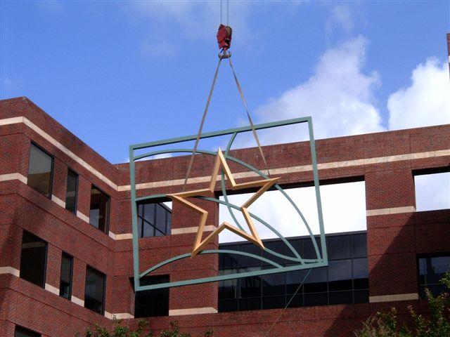 Hartland Plaza - Install
