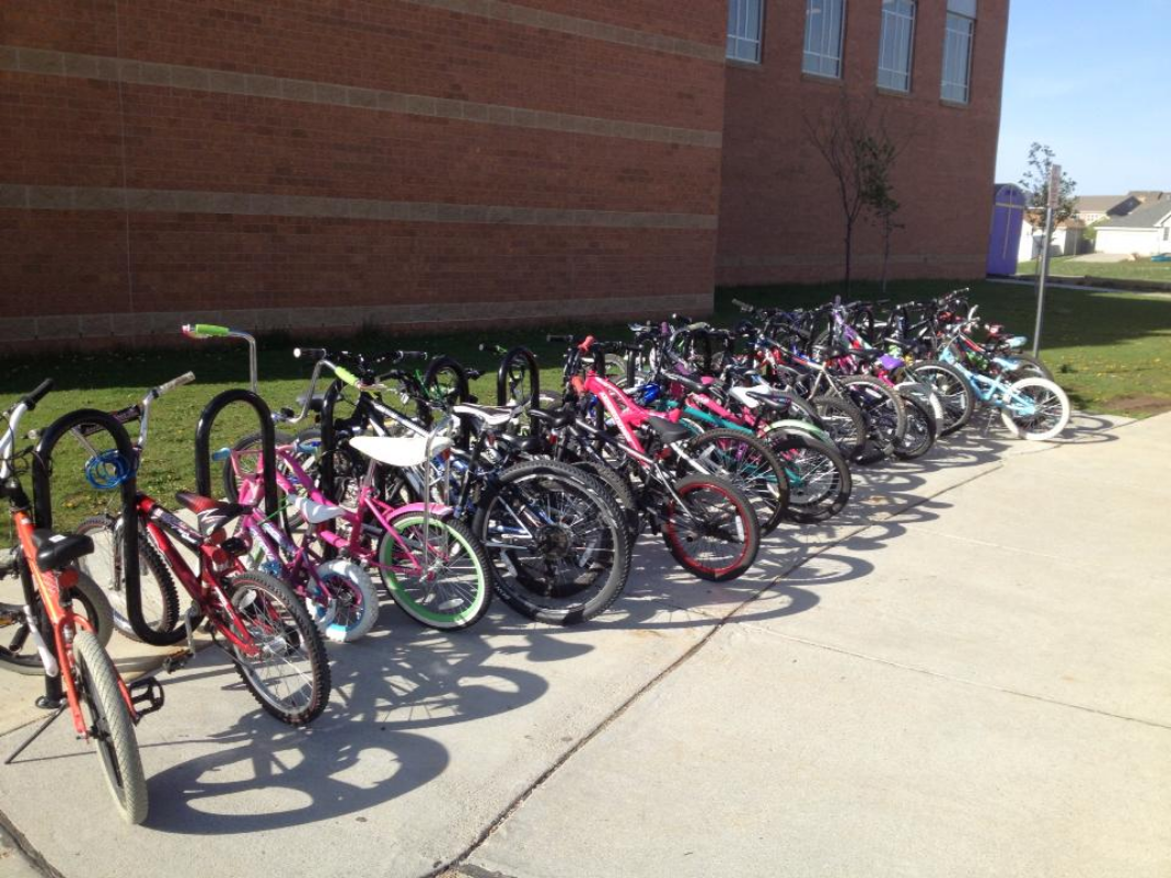 National Bike to School Day is May 8!