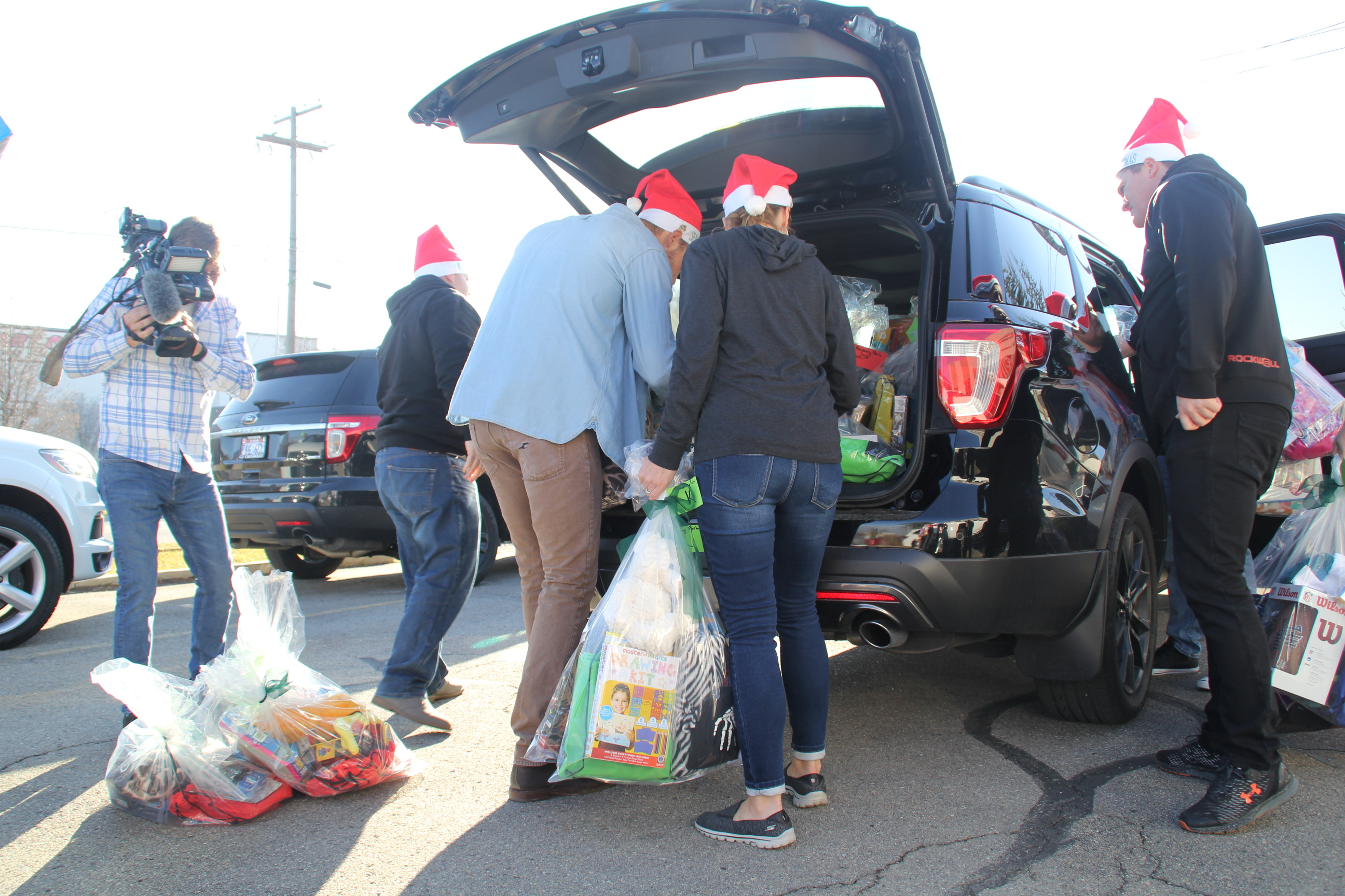 ABC 4 News: Volunteers Gather Gifts for Students in Need