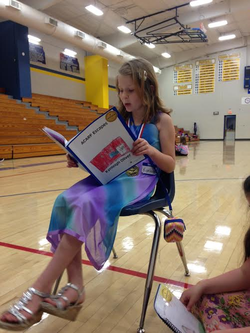 Humboldt youth sharing her book