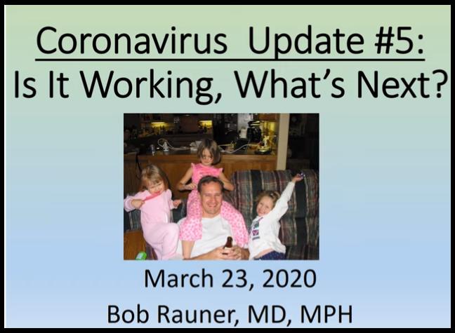 March 23, 2020 Update