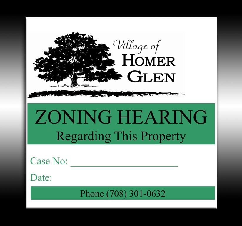 Homer Glen Zoning Hearing