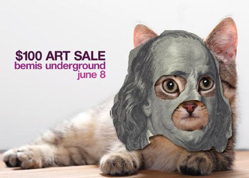 $100 Art Sale Fundraiser | UNDERGROUND