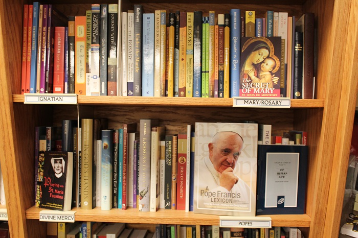 Books on Ignatian, Mary, Rosary