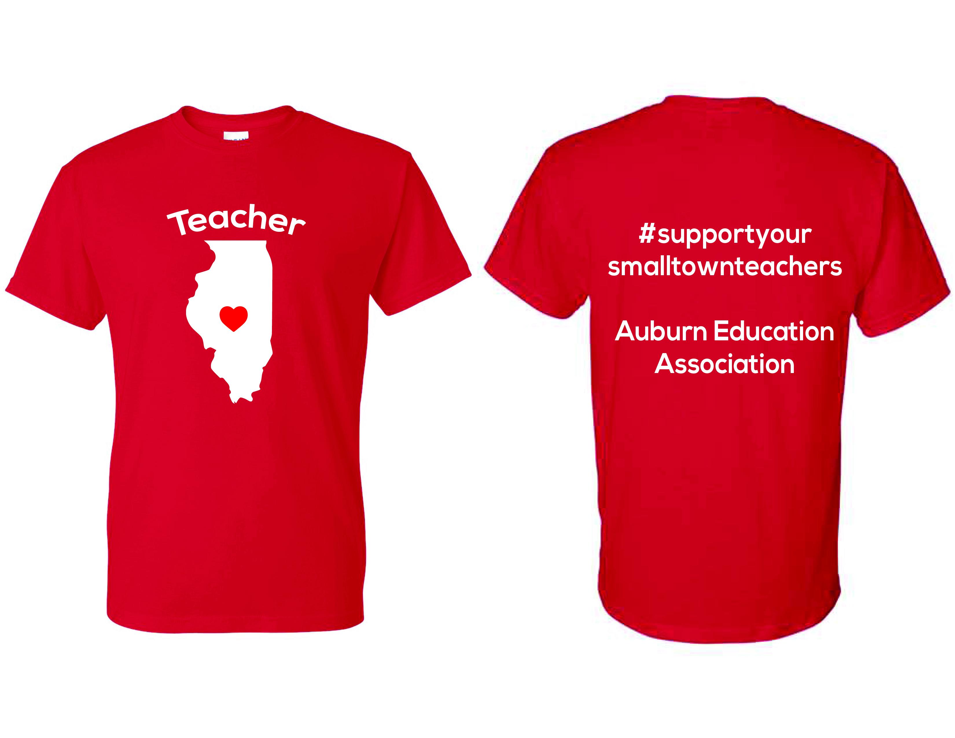 Auburn Education Association  - TEACHER SHIRTS