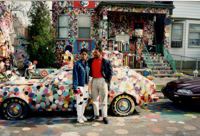 Tyree, Jenenne, and the Dotty Wotty Car, 1995