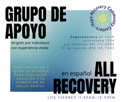 Spanish-Speaking All Recovery