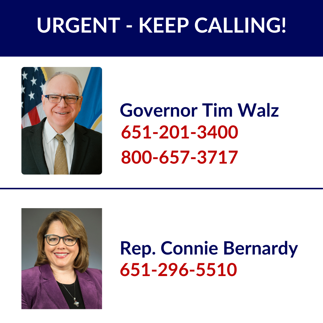 Keep Calling to Save SCI/TBI Research Funding in Minnesota