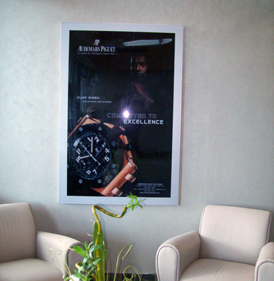 Lighted Poster