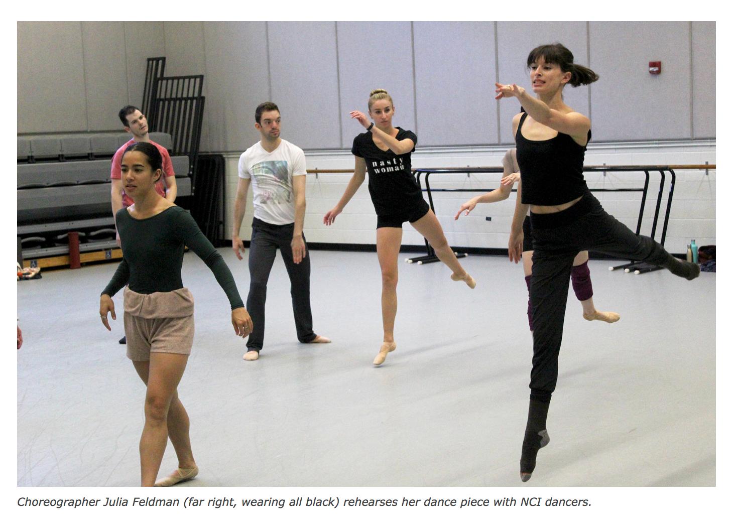 CdM Resident Leads Annual National Choreographers Initiative