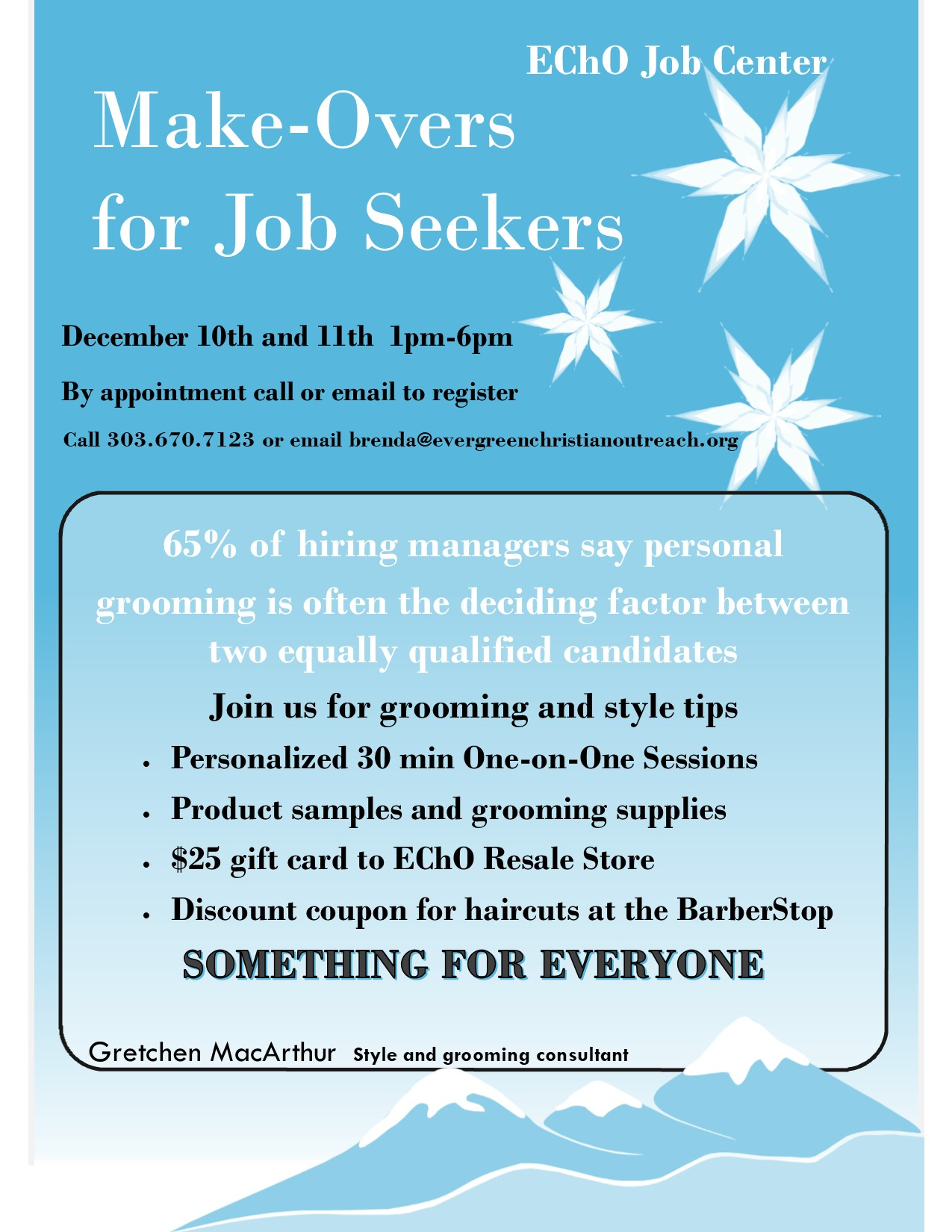 Make-overs for Job Seekers