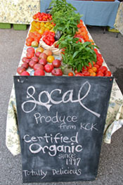 Local produce from KCK