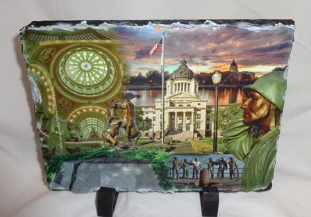 State Capitol Photo Slate
