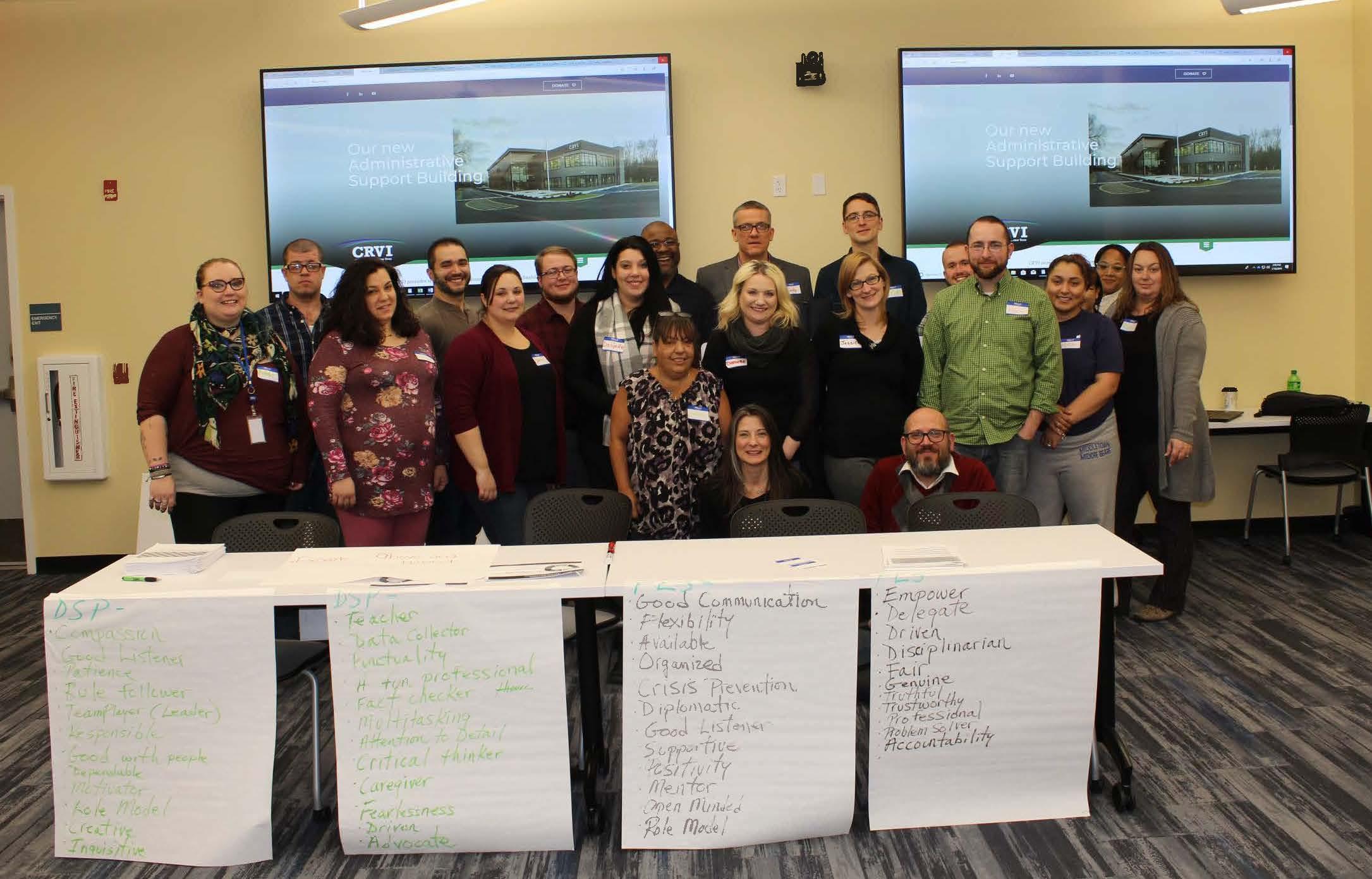 CRVI Hosting Frontline Supervisor Training