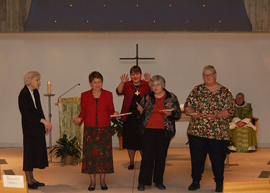 Welcome New Oblates of Annunciation Monastery - Oct. 7