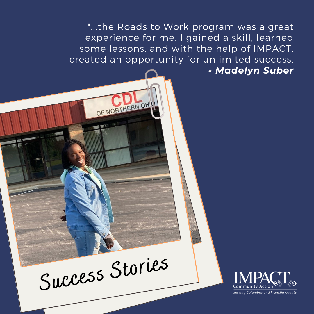 IMPACT Road to Work Testimony: Madelyn Suber