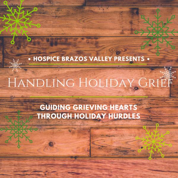 Handling Holiday Grief - Bryan