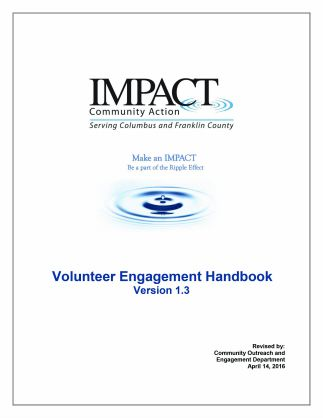 Volunteer Engagement Program Summary