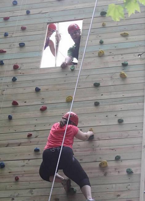 Climbing Wall II