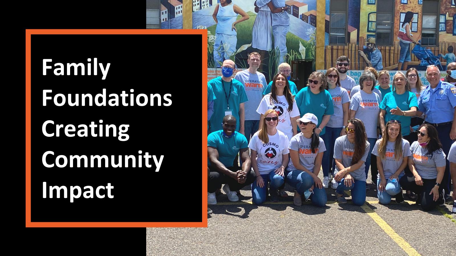 Family Foundations Creating Community Impact