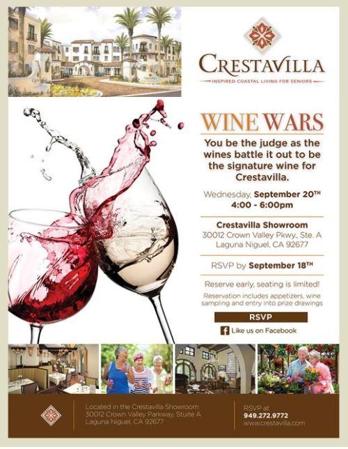 Crestavilla Wine Wars
