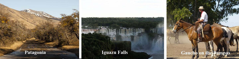 Locations in Argentina