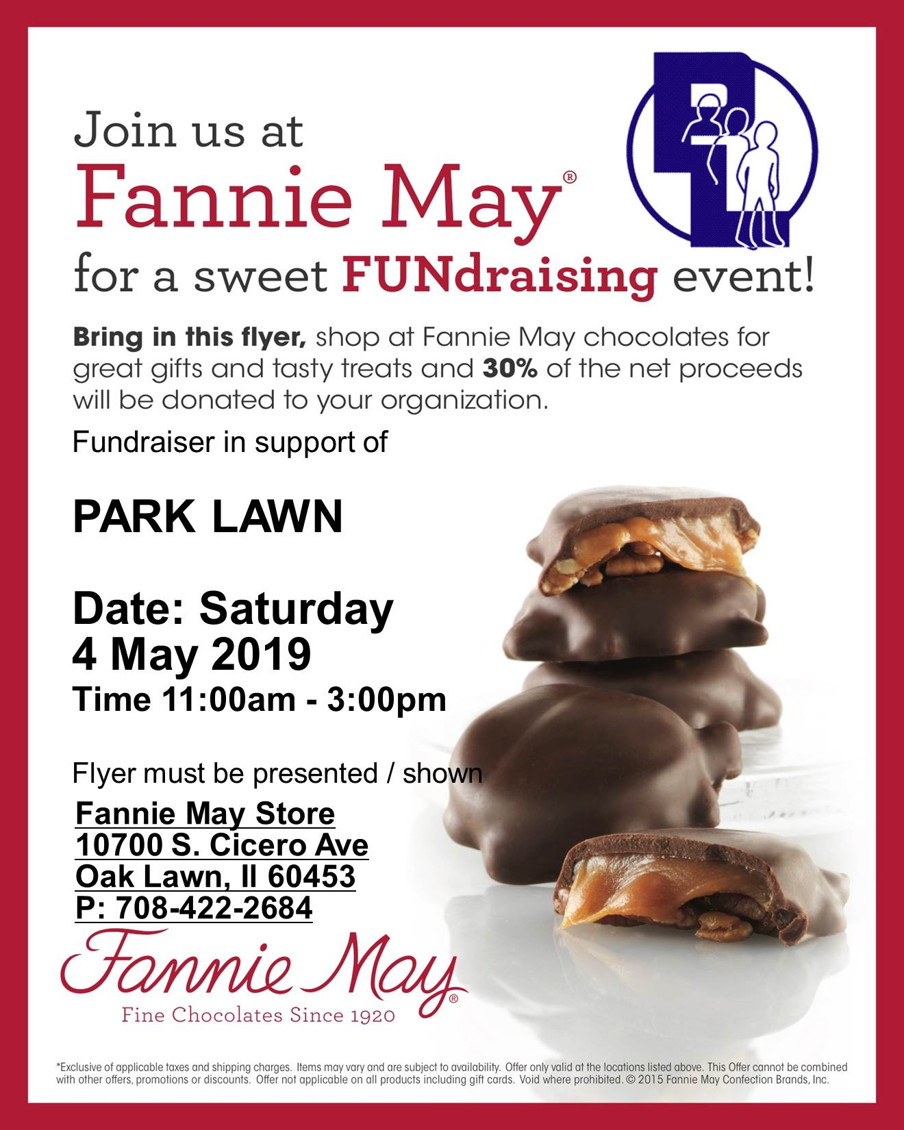Fannie May Park Lawn FUNdraising Event