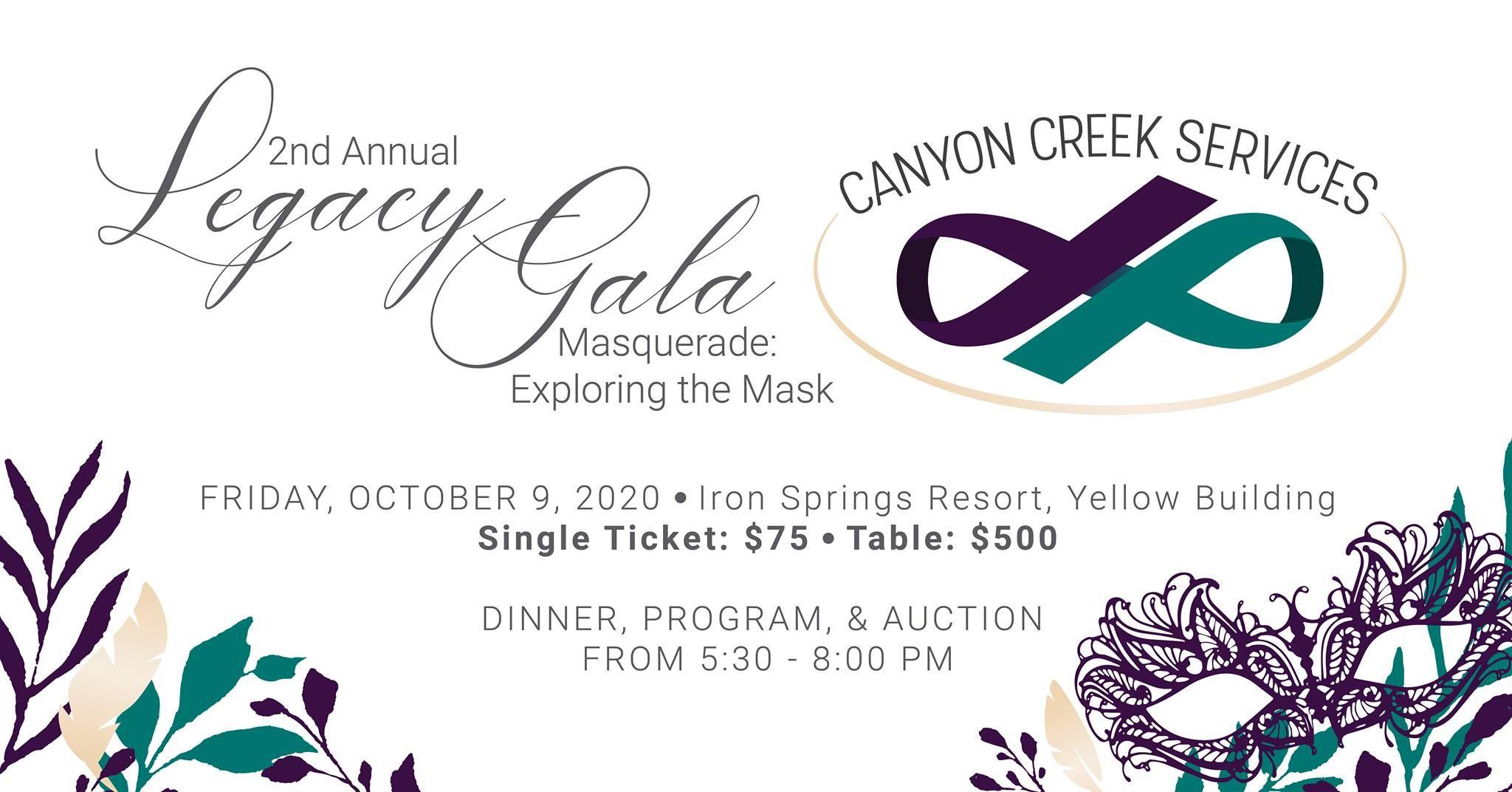 2nd annual Legacy Gala | Cedar City