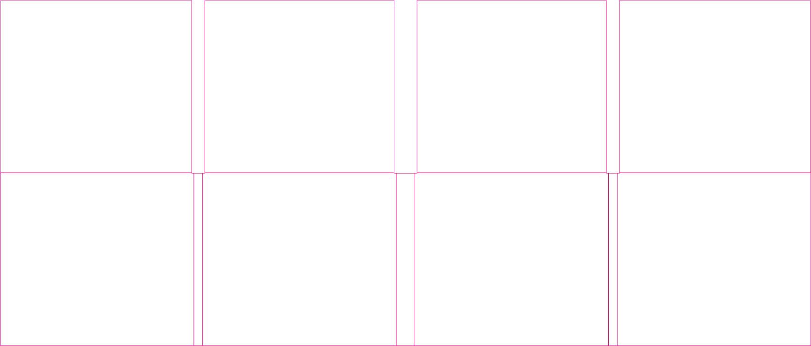 DDC82020 8 Panel Digi 2 Tray, No Pocket