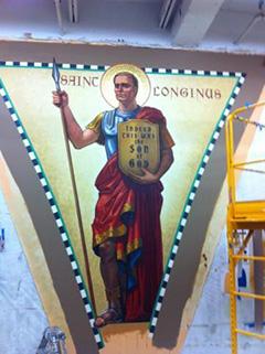 St. Longinus Pendentive