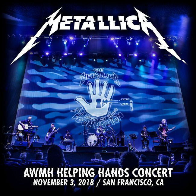 Live Metallica: SF Masonic, San Francisco, CA - November 3, 2018 (CD)
