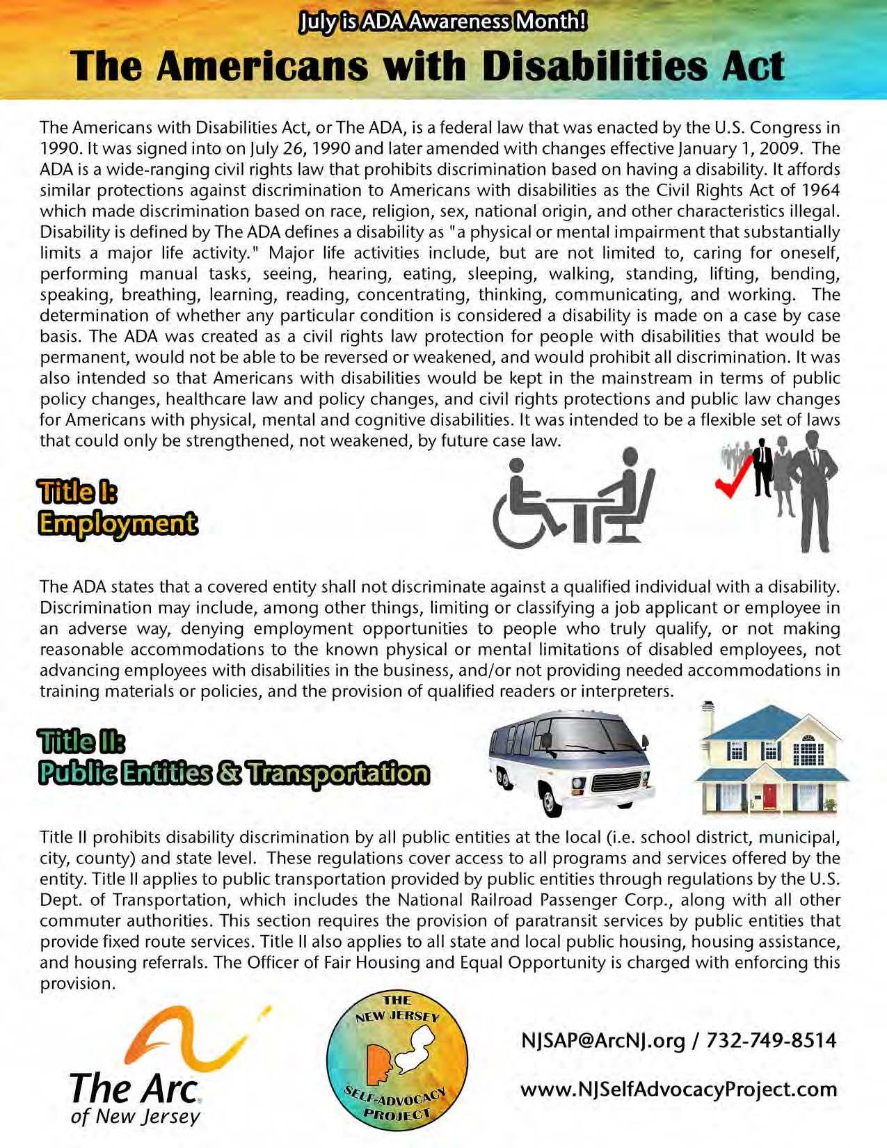 ADA Factsheet