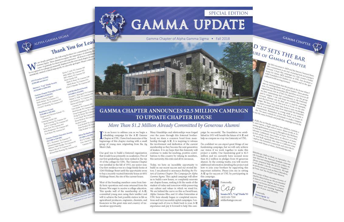 Gamma Update