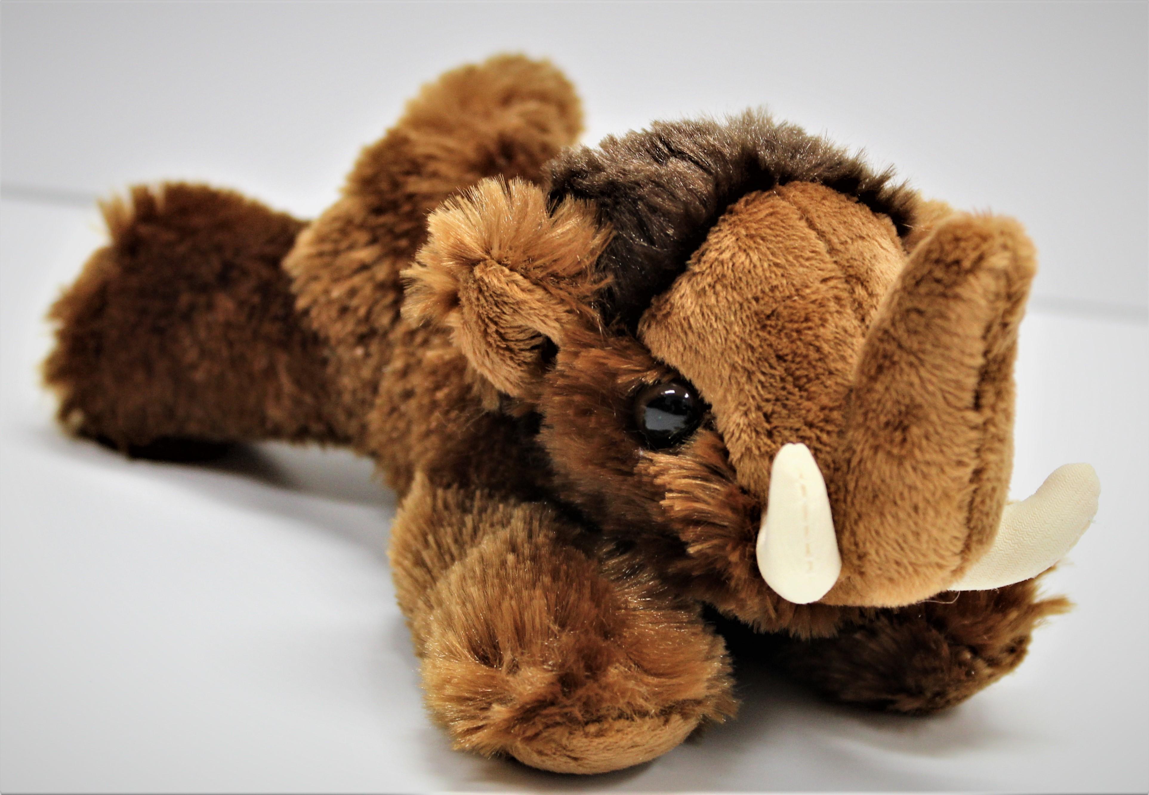 "Woolly Mammoth Mini Flopsie 8"""