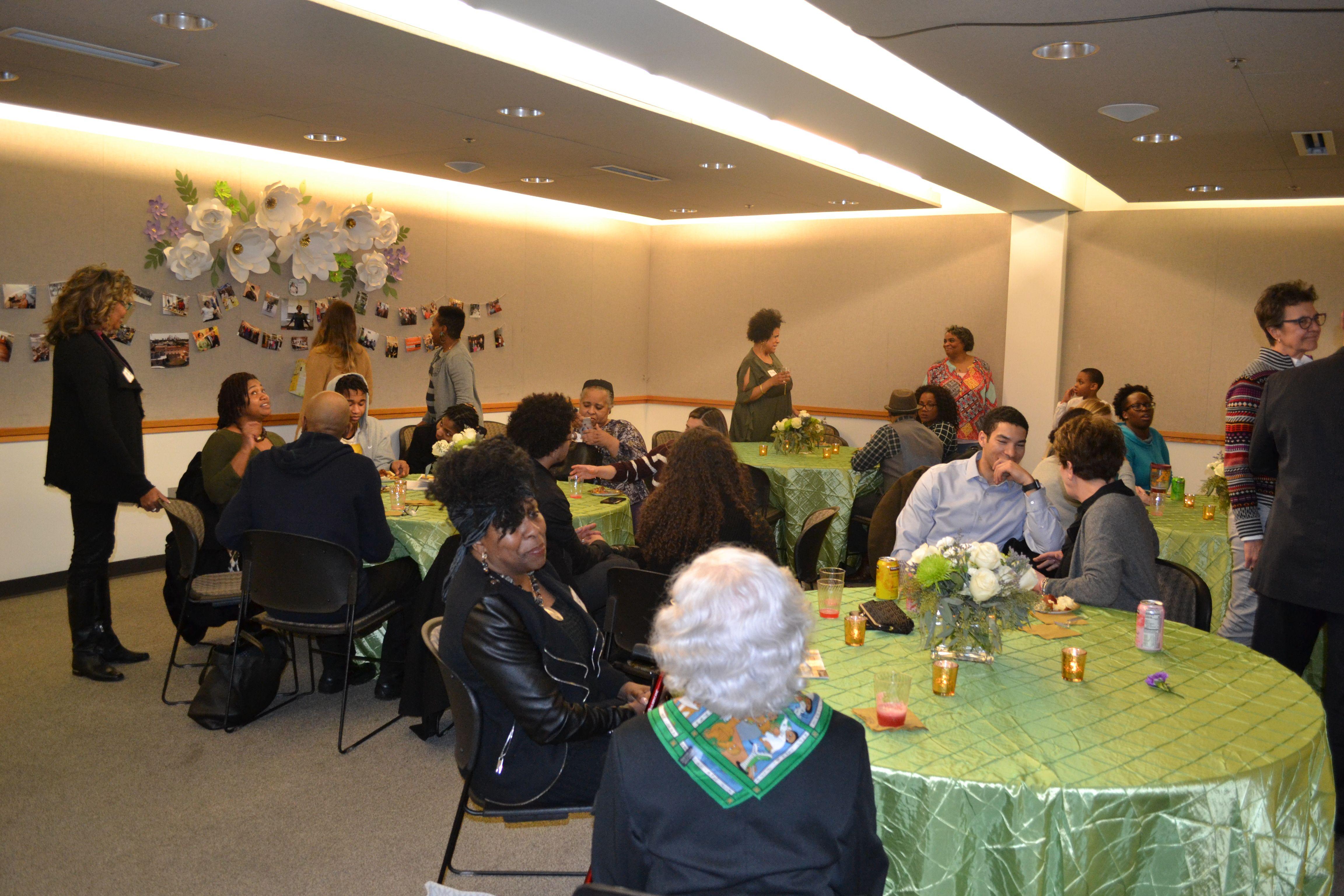 Junauld Presley's retirement party