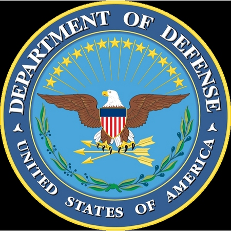 U30176 - Department of Defense Seal Carved 3D Wall Plaque